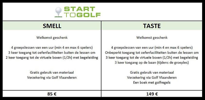 Onze start to golf pakketten zijn super interessante formules voor een kennismaking met gol in Tervuren. Ze geven de details wat inbegrepen is
