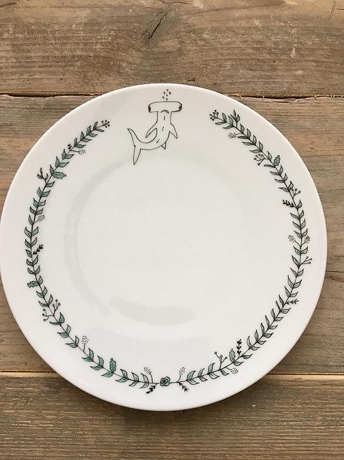 Petite assiette Requin marteau