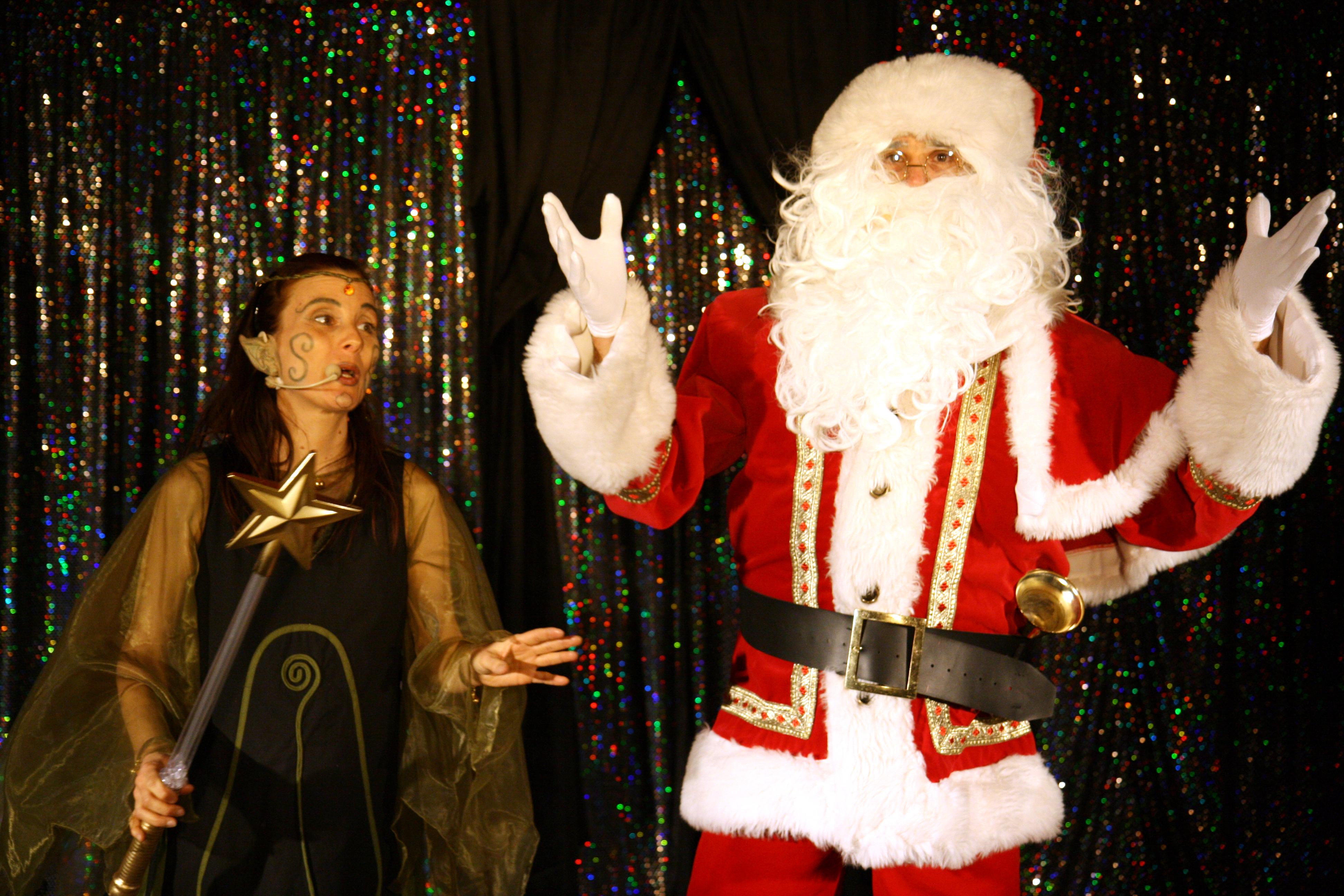 Fée des bois et Père Noël n°6