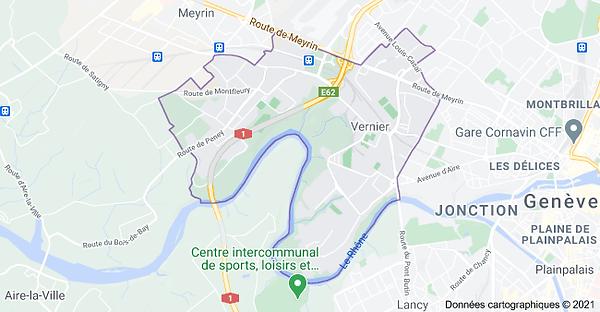 Vernier Google Maps - Guitare Coaching