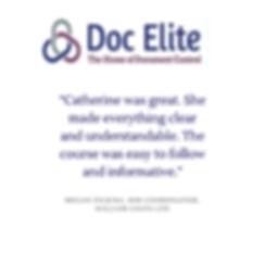 Doc Elite Testimonial