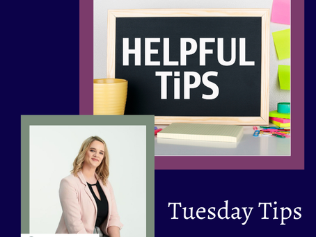 Tuesday Tips! 💁🏼♀️