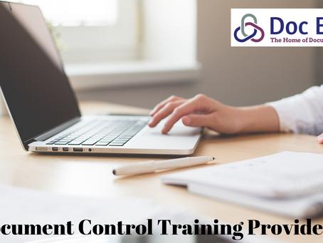 Document Control Training Prep