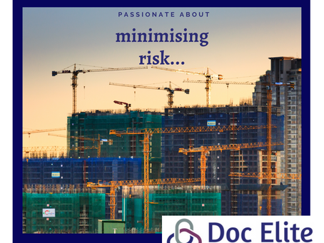 Passionate about Minimising Risk