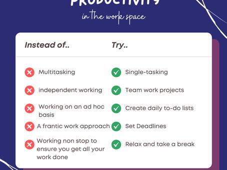 Managing Productivity!