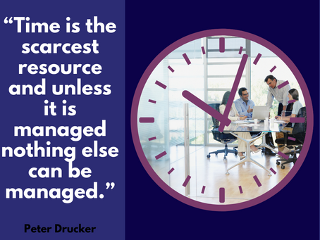 ⏳ Top 3 Tips for Managing your Time ⏳