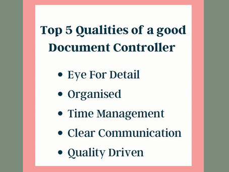 What Makes a Good Document Controller?