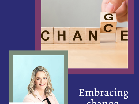 Embracing Change! 😁