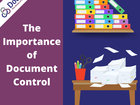 The Importance of Document Control
