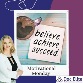This Week's Motivational Monday!