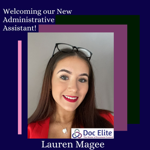 Welcoming our New Administrative Assistant!