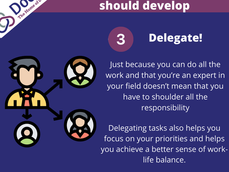 The Importance of Delegating