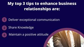 Enhancing Business Relationships 🤝🏻