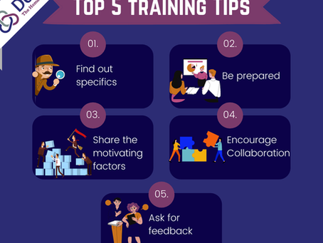 Top 5 Training Tips