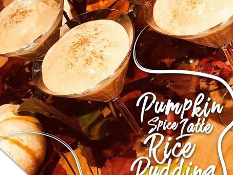 Pumpkin Spice Latte Rice Pudding