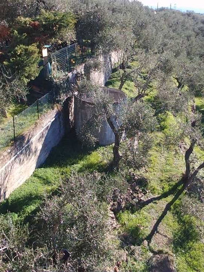 Muro di contenimento fasce agricole, Sanremo (IM)