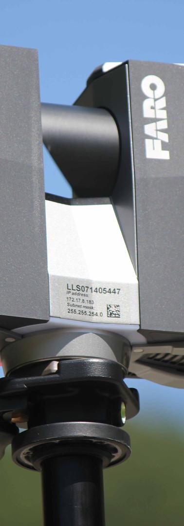 Laser scanner CAN Faro Focus