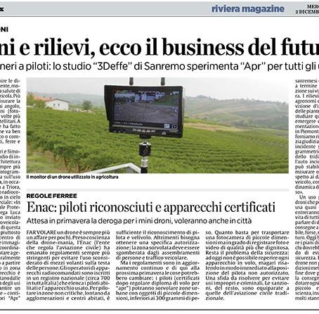 Droni e rilievi, ecco il business del futuro.
