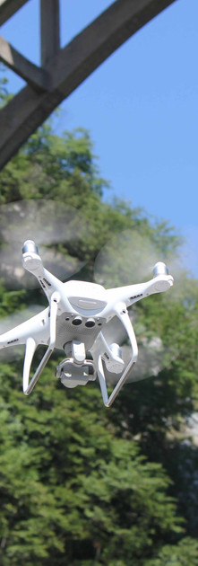 drone rilievo aereo Ponte Morandi