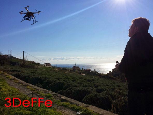droni, 3DeFFe, pilota di droni