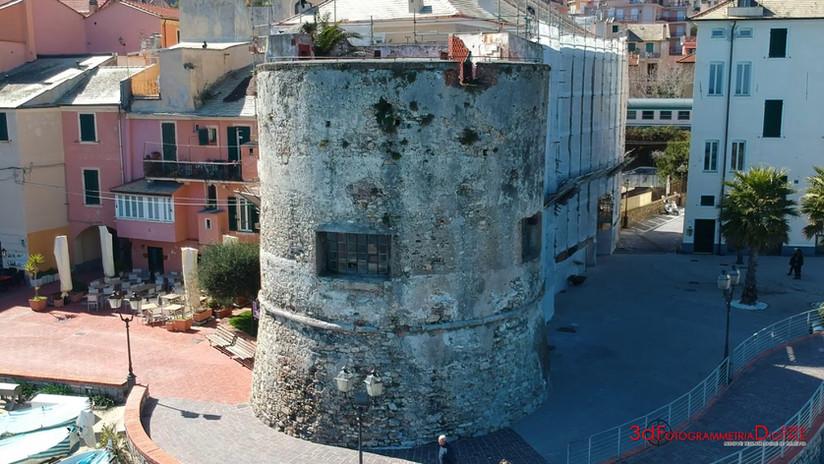 Rilievo laser e aerofotogrammetrico Torre Laigueglia
