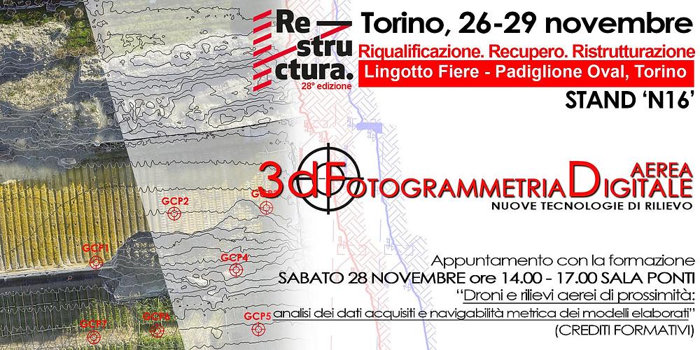 3DeFFe A TORINO PER RESTRUCTURA 2015