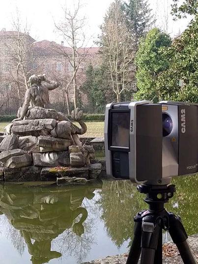 Fontana dei Collino, Parco Castello Ducale Agliè (TO)