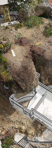 Rilievo aerofotogrammetrico cantiere