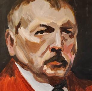 Detail Study: Zorn Self-Portrait