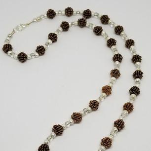 Goldstone Healing Hands Necklace