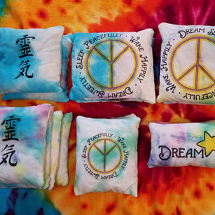 Tie Dye Dream Comfort Pillows with Herbs