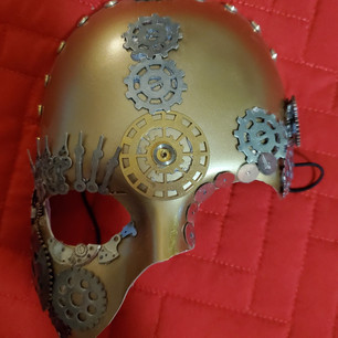 Steampunk Mask Female