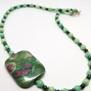 Heart Healer Gemstone Necklace