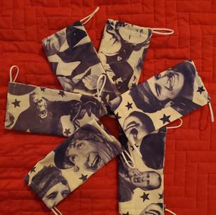 Vintage Star Fabric Face Masks