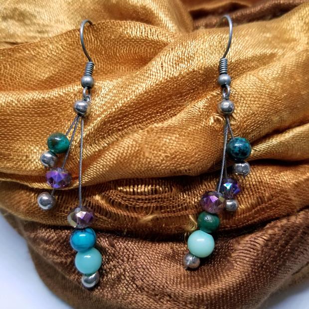 Heart Healer Gemstone Earrings