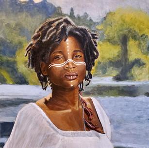 Portrait of Maka