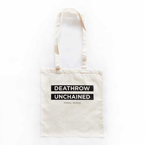 Deathrow Unchained Stamp Tote