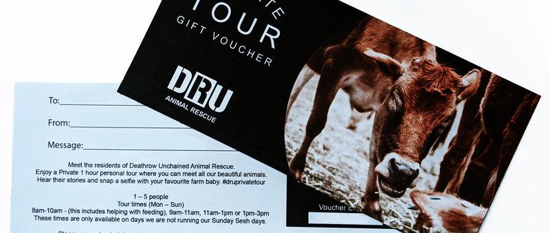 Private Sanctuary Tour Gift Voucher