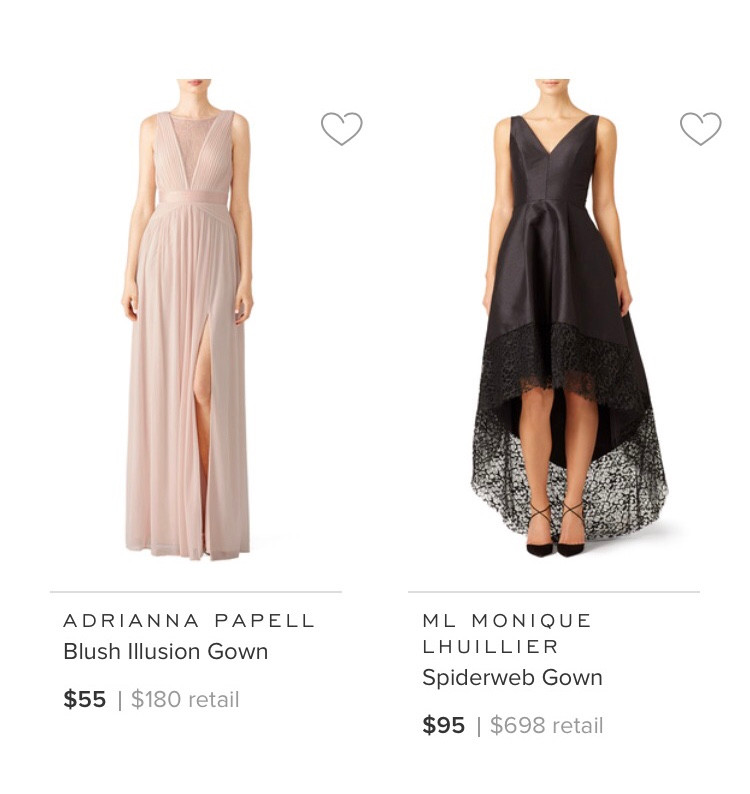 Not This Blush Dress | Yes This High- Low Black Gown