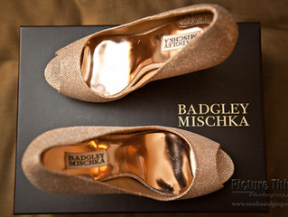 Tuesday ShoeDay | Badgley Mischka Wedding Shoes
