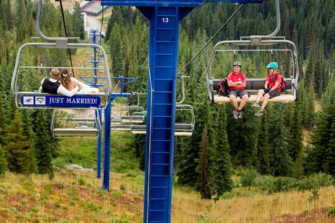 Schweitzer Mountain Wedding Sandpoint Idaho