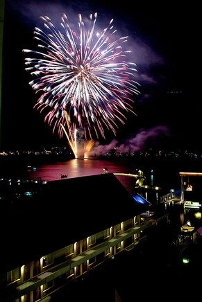Coeur d'Alene Idaho 4th of July Fireworks