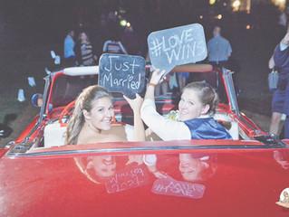 Lindsay + Jamie | Real SAS Wedding | #lovewins