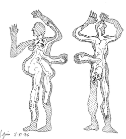 Inner Figures Reaching Out