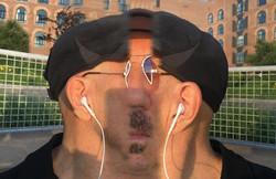 Centered Self Portrait