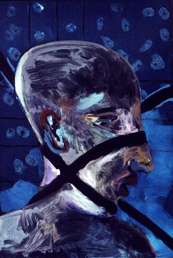Man w/ X Shadow