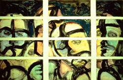 Men in Window w/Shadows