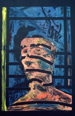 Man with Window Shadows