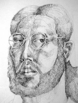Self Portrait '74 (Detail)