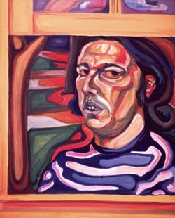 Self Portrait in Window '72